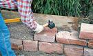 Gartenmauer selber bauen
