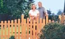 Garten: Zaun bauen