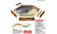 Wasserspiel Zeichnung und Materialliste