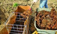 Hochbeet aus Gabionen