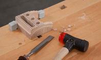 3D Puzzle: Kammzähne wegstemmen