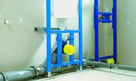 Abwasserrohr: Rohr ineinanderstecken