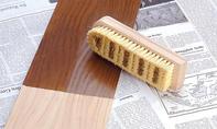 Buffet-Schrank: Holz polieren