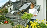 Dachfenster-Rollladen montieren
