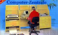 Heimbüro - Homeoffice - Computer-Schreibtisch
