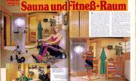 Trends: Fitness-Keller und Heim-Sauna