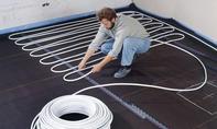 Fußbodenheizung: Heizschlaufen auslegen