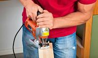 Garderobenständer: Teile zuschneiden