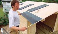 Gartenhaus aufbauen