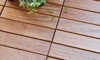 Holzfliesen-Balkon: Holzroste für den Balkon