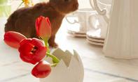 Ostereier-Vase basteln