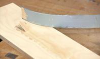 Polymerkleber aus der Kartusche