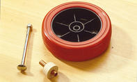Roller bauen: Rad