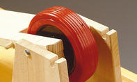 Roller bauen: Schwenksitz