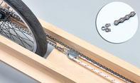 Ruderrenner: Seil festknoten