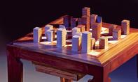 Schach-Spielbrett