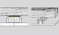 Schalldämmung unter Holzbalkendecken