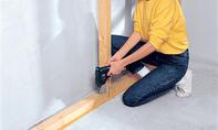 Schallschutz: Holzständer verschrauben
