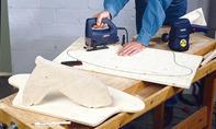 Schaukelpferd bauen: Raster übertragen