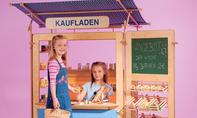 Spielwand: Kaufladen