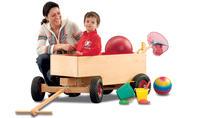 Spielzeug Bollerwagen bauen