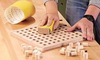 Sudoku Brettspiel: Spielfeld schleifen