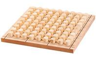 Sudoku Brettspiel: fertiges Sudoku