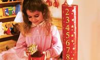 Weihnachtskalender in Kerzenform