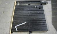 Holzbeplankung festnageln