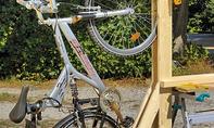 Bikeport mit Fahrradständer