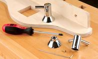 Badregal: Handtuchhalter montieren