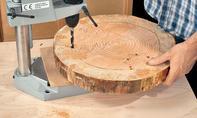 Basteln mit Baumscheiben