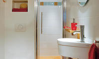 Begehbare Dusche