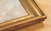 Goldkanten polieren