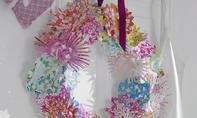 Bunten Blüten-Türkranz basteln