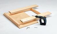 Bauplan: Schleiftisch selbst bauen