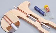 Dreirad selber bauen: Lenkstange einbauen