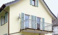 Fassade: Regenwasserableitung