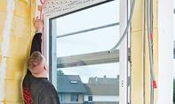 Fenster: Fensterflügel einhängen