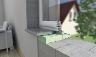 Fenster: Fensterban-Dämmmodul