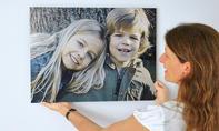 Fotodruck in Holzoptik
