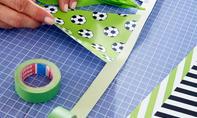 Fußball-WM: Girlande basteln
