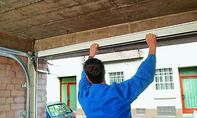 Garagentor einbauen