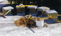 Gartenbank bauen