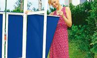 Gartendusche mit Sichtschutz