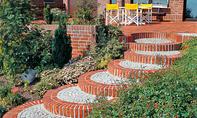 Gartenweg & Gartentreppe