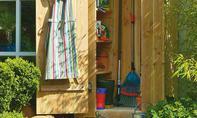 Gartengeräteschrank
