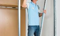 Tür-Sturz einbauen