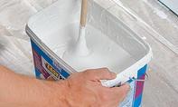 Oberflächenbehandlung: Putz anrühren