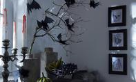 Halloween: Papier-Fledermaus basteln
